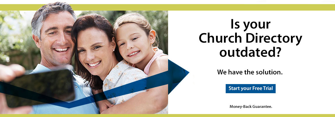 Church Directory We Have Your Solution banner image